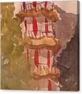 Taiwan Pagoda Canvas Print