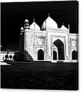 Taj Mahal Agra Canvas Print