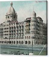Taj Mahal Hotel, Bombay (mumbai) Canvas Print