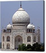 Taj Mahal - Agra - India  Canvas Print