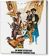 Take A Hard Ride, Us Poster, From Left Canvas Print