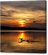 Take Off Forge Pond Canvas Print
