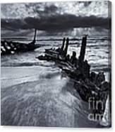 Taken By The Sea Canvas Print