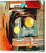 Talbot Lago T15 Ql6 Canvas Print
