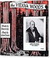 Tales From The Vienna Woods Canvas Print