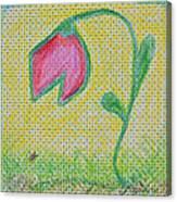 Talking In The Garden Canvas Print