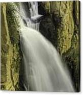 Tall Canyon Waterfalls Canvas Print