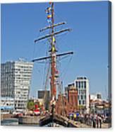Tall Ship Astrid Canvas Print