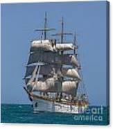 Tall Ship Mircea Canvas Print
