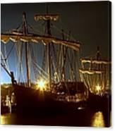 Tall Ships Canvas Print