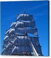 Tall Ships Race In The Ocean, Baie De Canvas Print