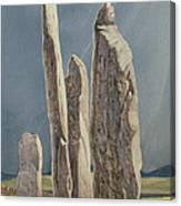 Tall Stones Of Callanish Isle Of Lewis Canvas Print