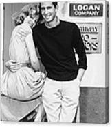 Tall Story, From Left Jane Fonda Canvas Print