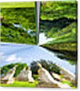 Tall Tombstones Polar View Canvas Print