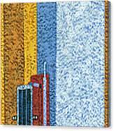 Tall Truck Canvas Print