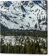 Tallac View Canvas Print