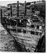 Talmine Shipwreck Canvas Print