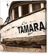 Tamara Canvas Print