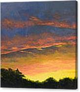 Tamarac Sunset Canvas Print
