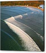 Tamarin Bay Surf Going Off Canvas Print
