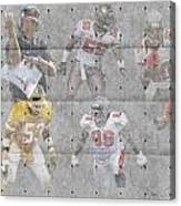 Tampa Bay Buccaneers Legends Canvas Print