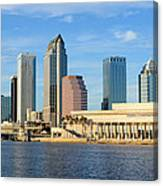 Tampa Bay Classic View Canvas Print