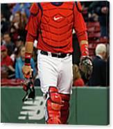 Tampa Bay Rays V Boston Red Sox Canvas Print