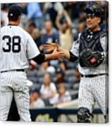 Tampa Bay Rays V New York Yankees Canvas Print