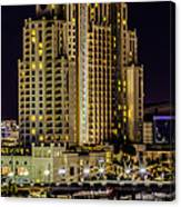 Tampa Marriott Waterside Hotel And Marina Canvas Print