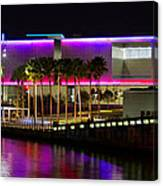 Tampa Museum Of Art In Hdr Canvas Print