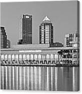 Tampa Panorama Canvas Print