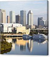 Tampa Reflections Canvas Print