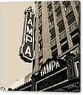 Tampa Theatre Canvas Print