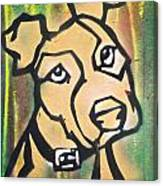 Tan Dog Canvas Print