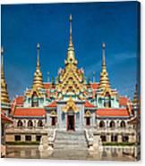 Tang Sai Temple Canvas Print