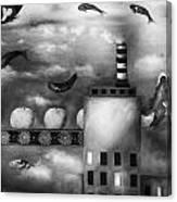 Tangerine Dream Edit 3 Canvas Print