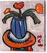 Tangerine Table Canvas Print
