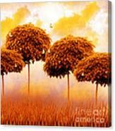 Tangerine Trees And Marmalade Skies Canvas Print