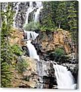 Tangle Falls Tumble Canvas Print