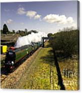 Tangmere At Seaton Junction Canvas Print