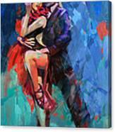 Tango 5 Canvas Print