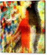 Tango As The Sunset Canvas Print