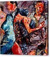 Tango Club # 3 Canvas Print