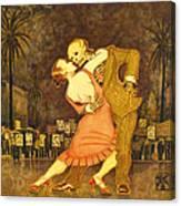 Tango En La Plaza De Mayo Canvas Print