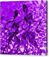 Tango In Purple Canvas Print