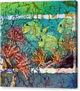 Tangs Trio Canvas Print