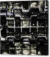 Tank Track Canvas Print