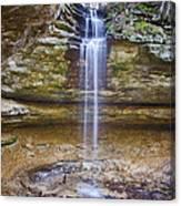 Tannery Falls Canvas Print