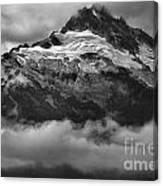 Tantalus Bursting Through The Clouds Canvas Print