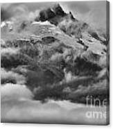 Tantalus Mountain Storms Canvas Print